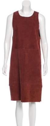 Veda Midi Suede Dress