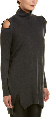 Fate Cold-Shoulder Sweater Tunic