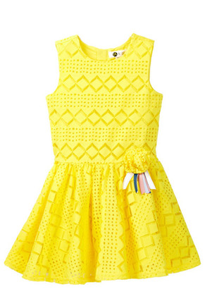 Petit Lem Lace Dress (Toddler & Little Girls) $44 thestylecure.com