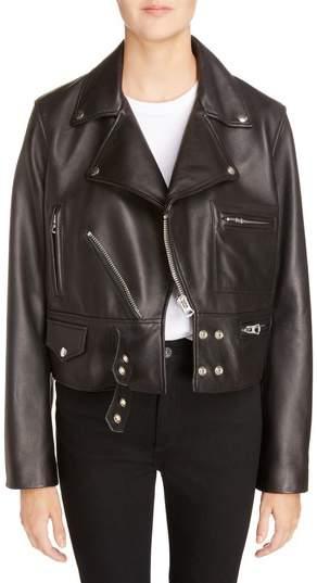 Suokki Leather Moto Jacket