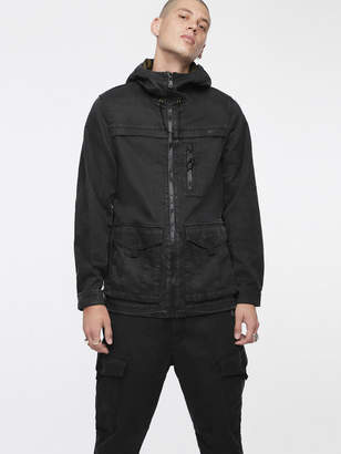Diesel Denim Jackets 0EATZ - Black - S