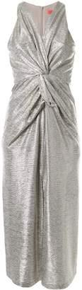 Manning Cartell metallic ruched dress