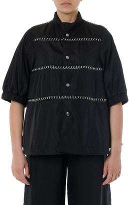 Moncler Genius Black Waterproof Chain Jacket