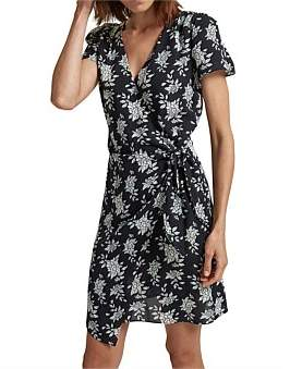 SABA Astoria Silk Wrap Dress