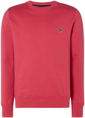 Paul Smith Men's Zebra Logo Organic Cotton Sweatshirt