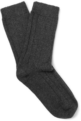 NN07 Mélange Wool-Blend Socks $25 thestylecure.com