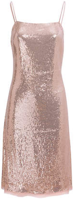 Jason Wu Grey Sequin Slip Dress