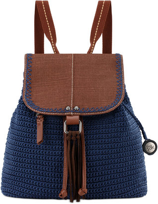 The Sak Avalon Convertible Crochet Backpack, a Macy's Exclusive Style $99 thestylecure.com