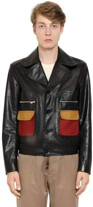 Maison Margiela Replica Leather Jacket