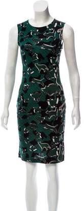 Mary Katrantzou Silk Printed Dress