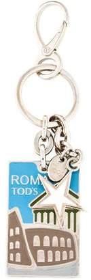 Tod's Roma Enamel Keychain