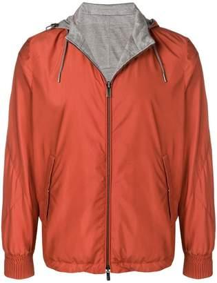 Ermenegildo Zegna reversible zipped-up jacket