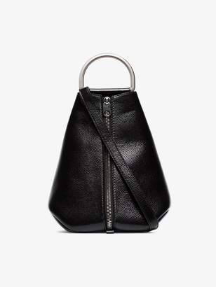 Proenza Schouler black top handle leather tote