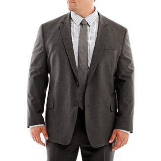 Jf J.Ferrar JF Stretch Gabardine Suit Jacket-Big & Tall