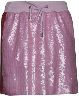 01b24b87c Alberta Ferretti Sequin-coated Mini Skirt
