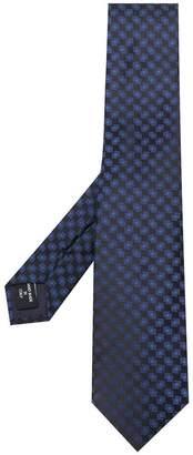 Giorgio Armani square print tie
