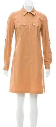 Michael Kors Collared Shirt Dress