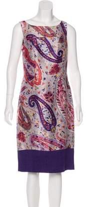 Etro Linen-Blend Dress