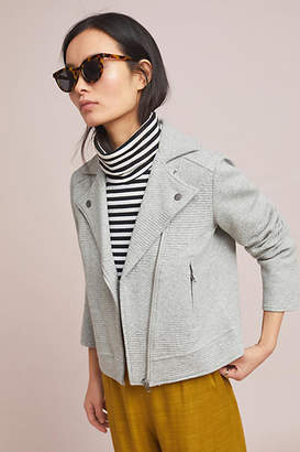 Cupcakes And Cashmere Freeway Textured Moto Jacket