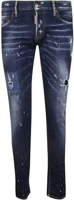 DSQUARED2 Washed Skinny Jeans
