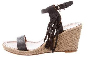 Valentino Espadrille Wedge Sandals