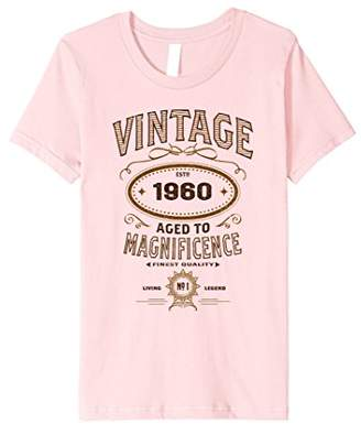 Vintage Aged To Magnificence 1960 58th Birthday Gift T-shirt