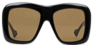 Gucci Oversize square-frame sunglasses
