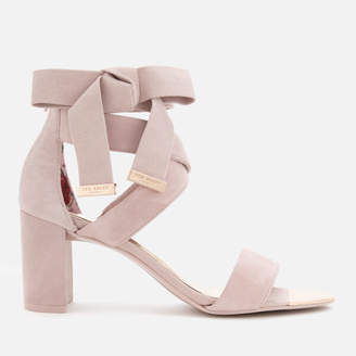 193f63c8cf7597 Ted Baker Women s Noxen 2 Suede Block Heeled Sandals