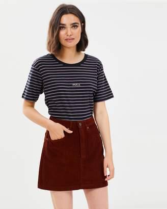 RVCA Corded Mini Skirt