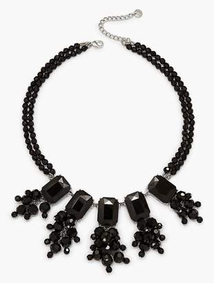 Talbots Oversized Bead Statement Necklace