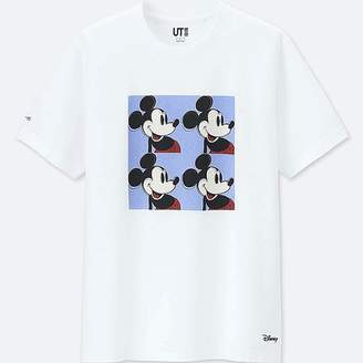 Uniqlo Mickey Art Short-sleeve Graphic T-Shirt (andy Warhol)