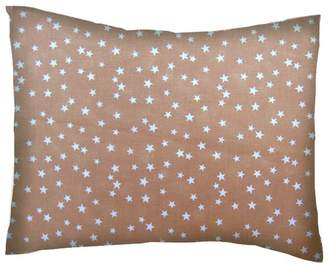 Sheetworld Cloudy Stars Cotton Percale Pillow Cover