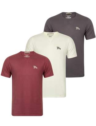 Tokyo Laundry Mens Willwood Crew Neck 3 Pack T-Shirts