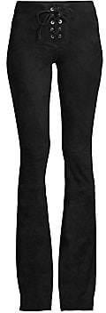 Alexis Women's Upton Lace-Up Suede Pants