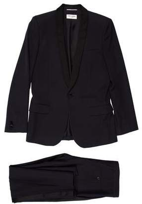 Saint Laurent Two-Piece Single Button Tuxedo