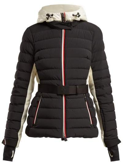 Bruche Down Filled Jacket - Womens - Black