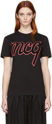 McQ Alexander McQueen Black Classic Logo T-Shirt $220 thestylecure.com