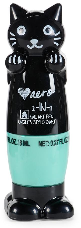 Aeropostale Kitty 2-in-1 Nail Art Pen