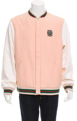 Lacoste Supreme x 2018 Wool Varsity Jacket w/ Tags