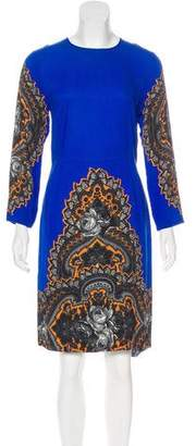 Stella McCartney Printed Crepe Dress