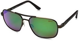 Revo Unisex RE 1012 Freeman Rectangular Polarized UV Protection Sunglasses
