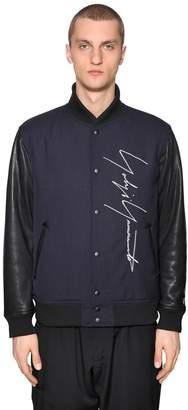 Yohji Yamamoto New Era Embroidery Bomber Jacket
