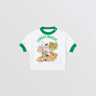 Burberry Childrens Cartoon Print Cotton T-shirt