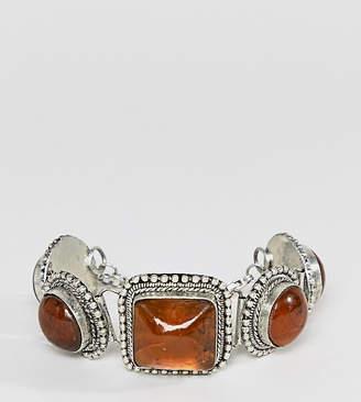 Sacred Hawk semi-precious stone bracelet