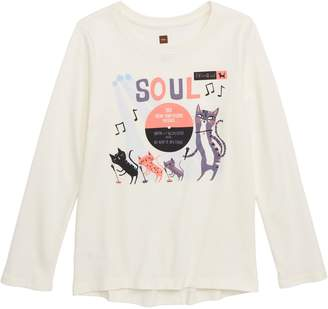 Tea Collection Soul Cat Graphic Tee