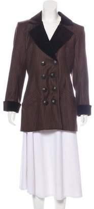Saint Laurent Structured Wool Blazer