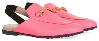 Gucci Kids Children's Princetown leather slipper