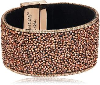 Kenneth Cole New York Rose Gold Items Rose Gold Statement with Sprinkle Stone Bracelet