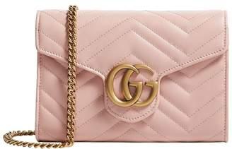 Gucci Mini Marmont Matelassé Shoulder Bag