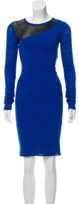 Yigal Azrouel Long Sleeve Knit Dress